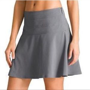 Athleta gray everyday lightweight flare skort